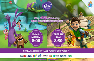 """Kate & Mim- Mim"" và ""Tree Fu Tom"""